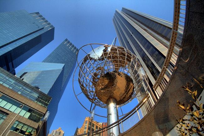 Colombus Circle - Parcours du marathon de New-York