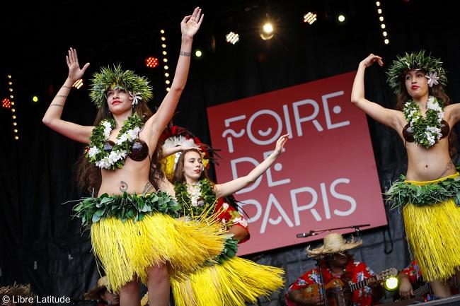 Danseuses tahitiennes - Foire de Paris