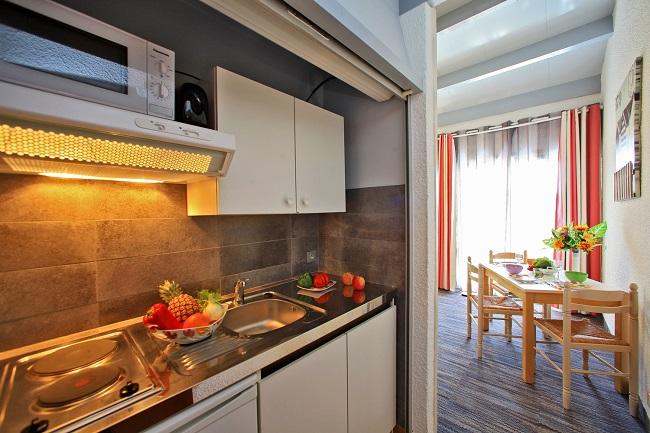 Chambre avec kitchenette - Hôtel Logis de la Plage - Saint Pierre d'Oléron