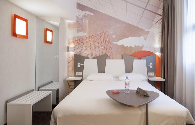 Chambre double - Hôtel Ibis Styles Centre Poitiers