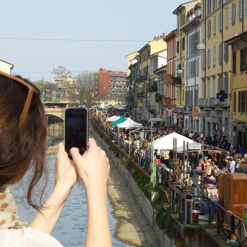 Marché del Naviglio - Milan