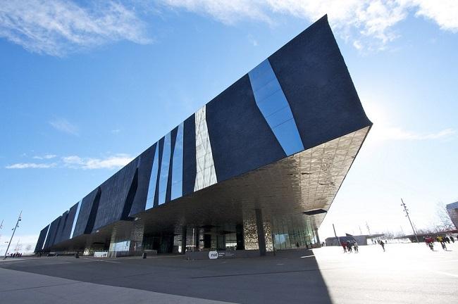 Museu Blau - Parcours du marathon de Barcelone