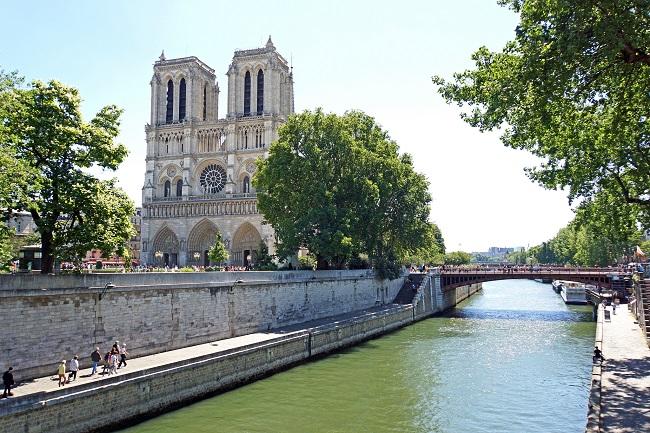 Cathédrale Notre-Dame de Paris - Parcours du marathon de Paris