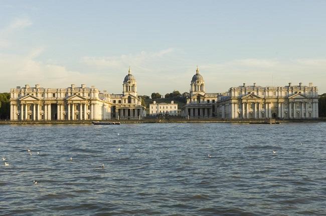 Old Royal Naval College - Parcours du marathon de Londres