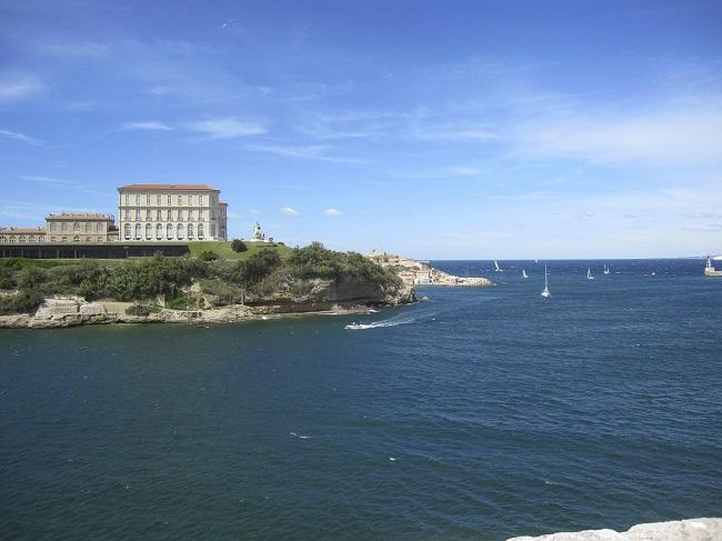 Palais du Pharo - Parcours du marathon de Marseille