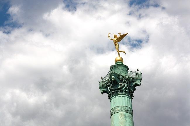 Place de la Bastille - Parcours du marathon de Paris