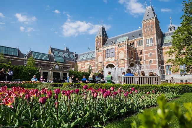 Rijksmuseum - Parcours du marathon d'Amsterdam