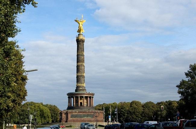 Siegessaule - Parcours du marathon de Berlin