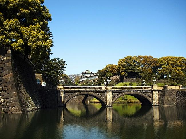 Palais imperial de Tokyo - Parcours du marathon de Tokyo