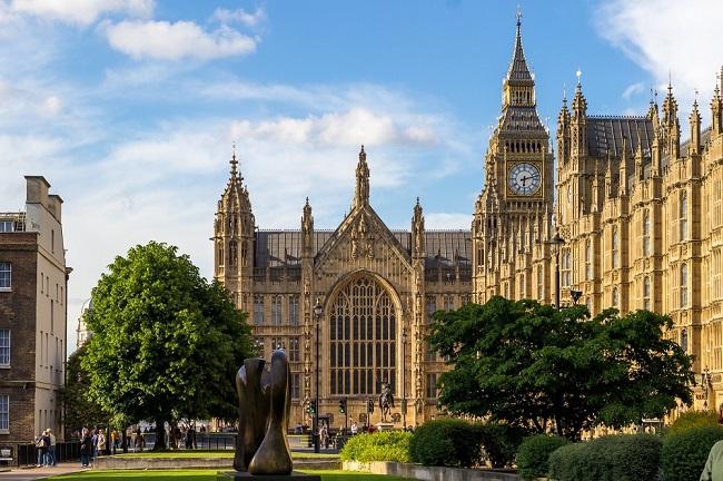 Westminster Palace - Parcours du marathon de Londres