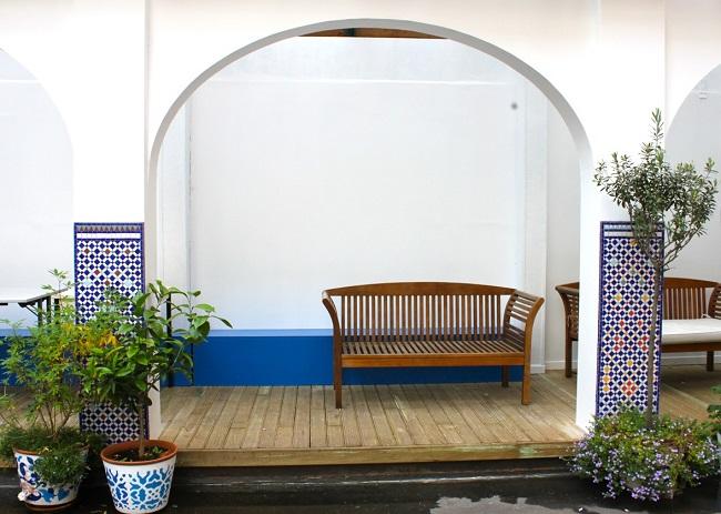 Cour - Institut des Cultures d'Islam Paris