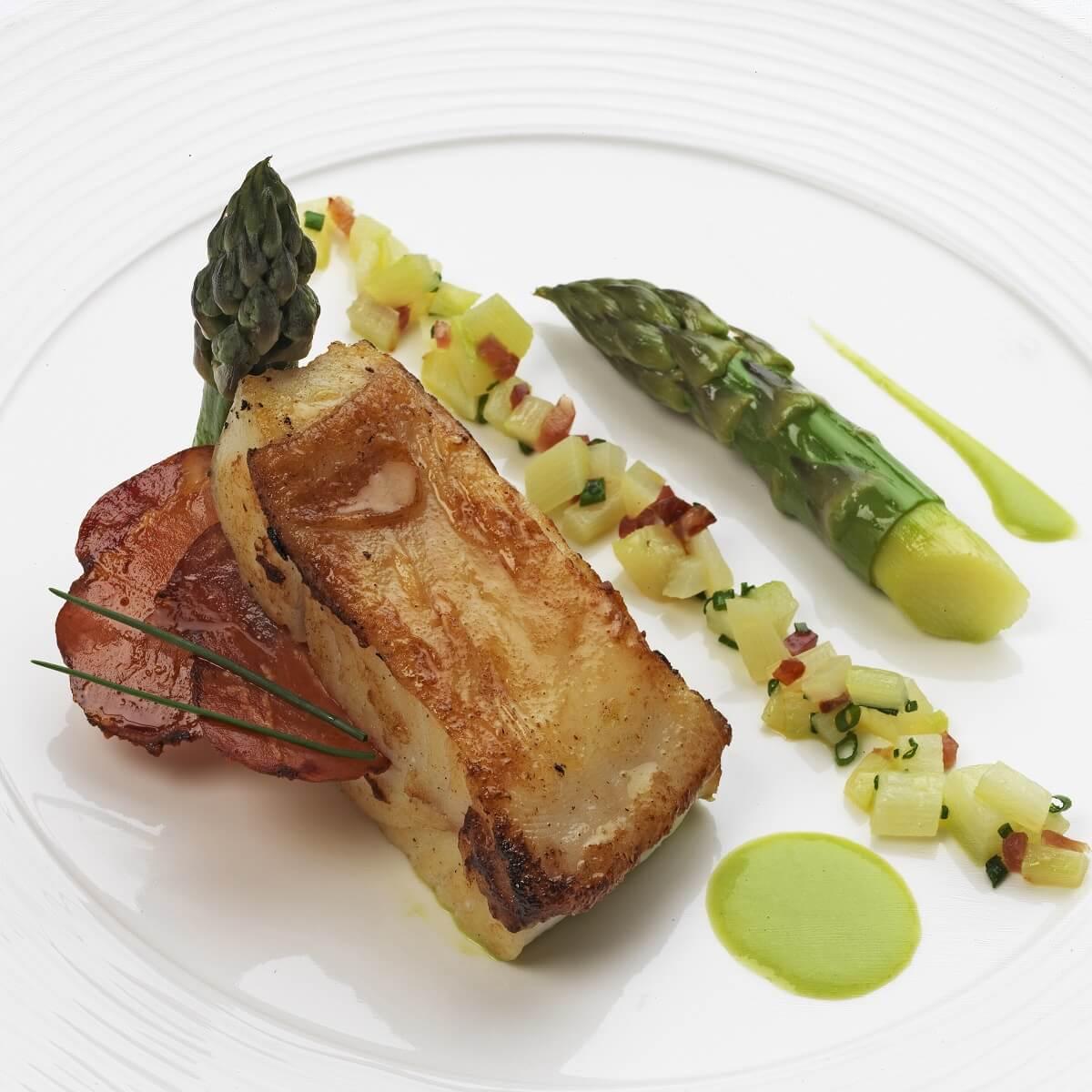 Plat du restaurant - Hôtel Le Domaine de Rochevilaine - Billiers