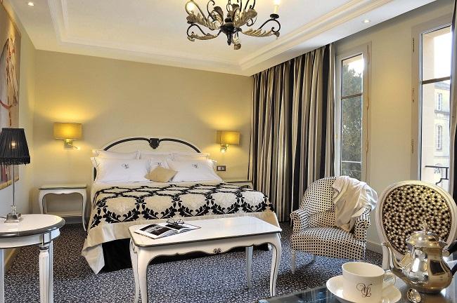 Chambre - Hôtel Villa Lara - Bayeux