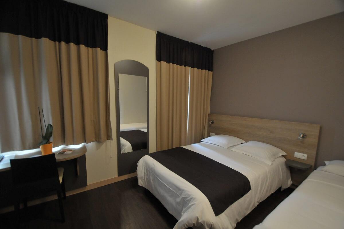 Chambre triple - Hôtel Le Bon Cap - Plurien