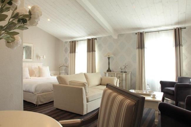Chambre - Hôtel Le Clos St Martin - Ile de Ré
