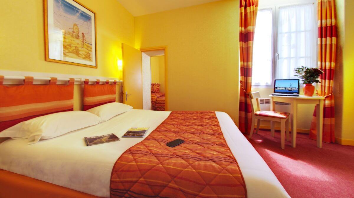 Suite familiale - Hôtel Le Nautilus - St Malo