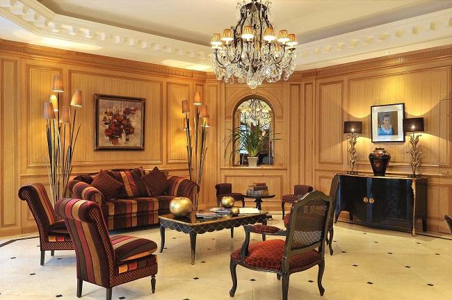 Salon - Hôtel Villa Lara - Bayeux