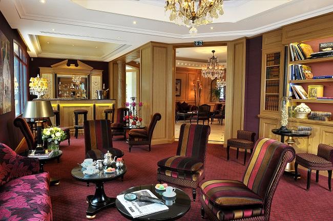 Bar - Hôtel Villa Lara - Bayeux