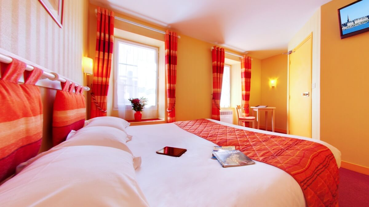 Chambre double - Hôtel Le Nautilus - St Malo