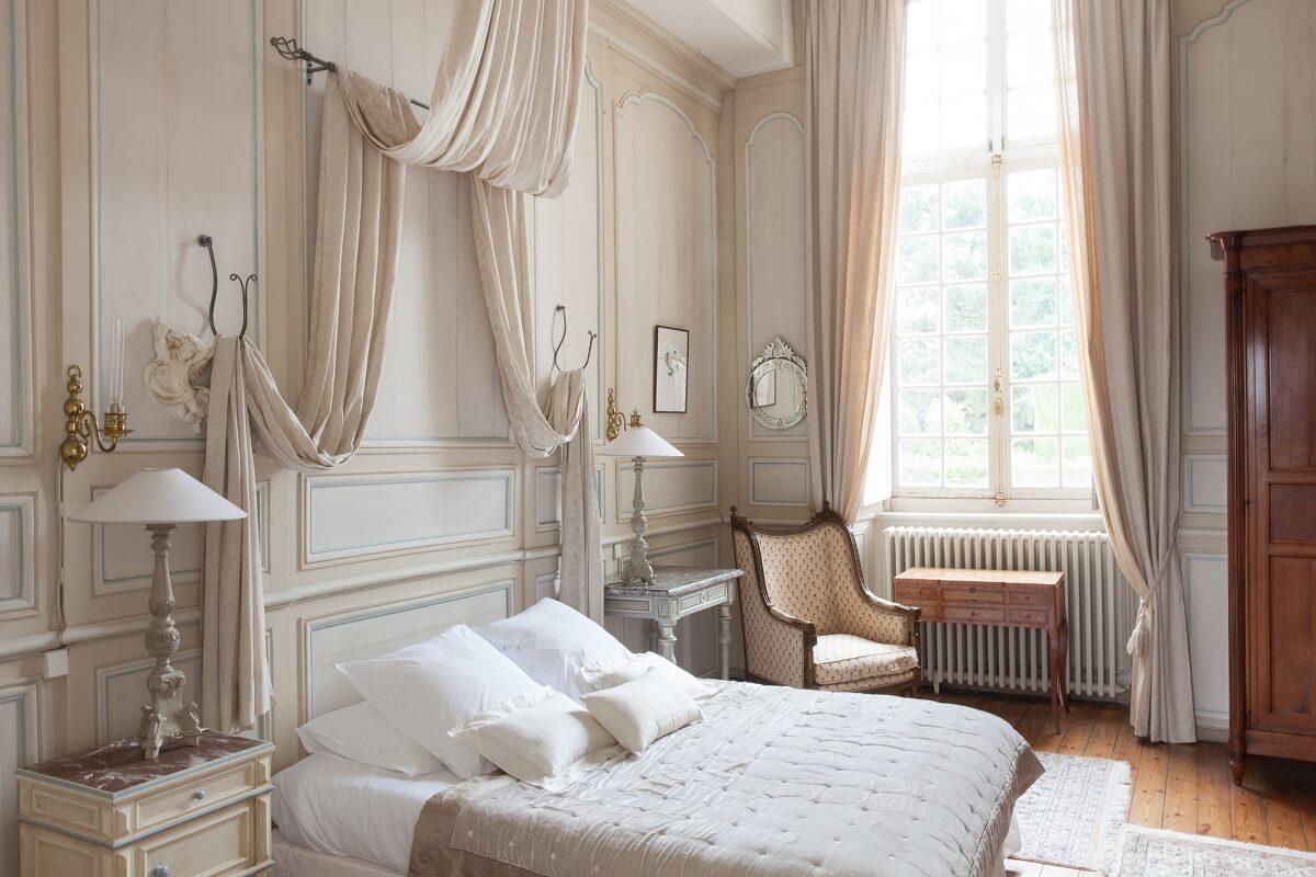 Chambre Diane - Château de la Ballue - Bazouges la Pérouse