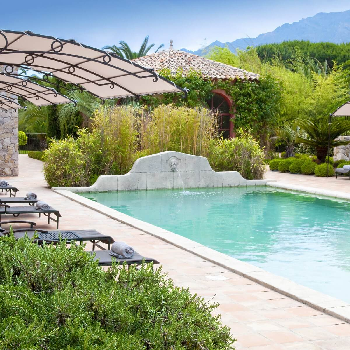 Piscine extérieure - Hôtel La Signoria - Calvi - Corse du sud