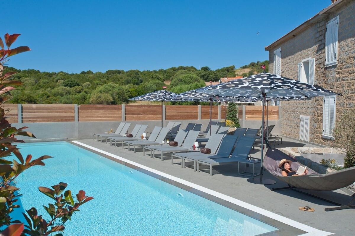 Piscine - Hôtel Le Golfe - Serra di Ferro - Corse du Sud