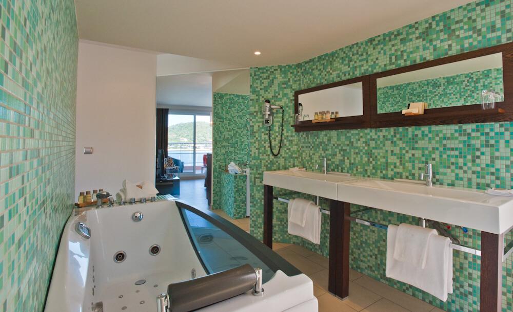 Salle de bain - Hôtel Le Golfe & Spa Casanera - Serra di Ferro - Corse du sud