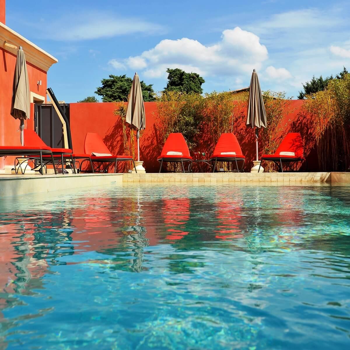 Piscine extérieure - Hôtel Liberata - L'île Rousse - Haute-Corse