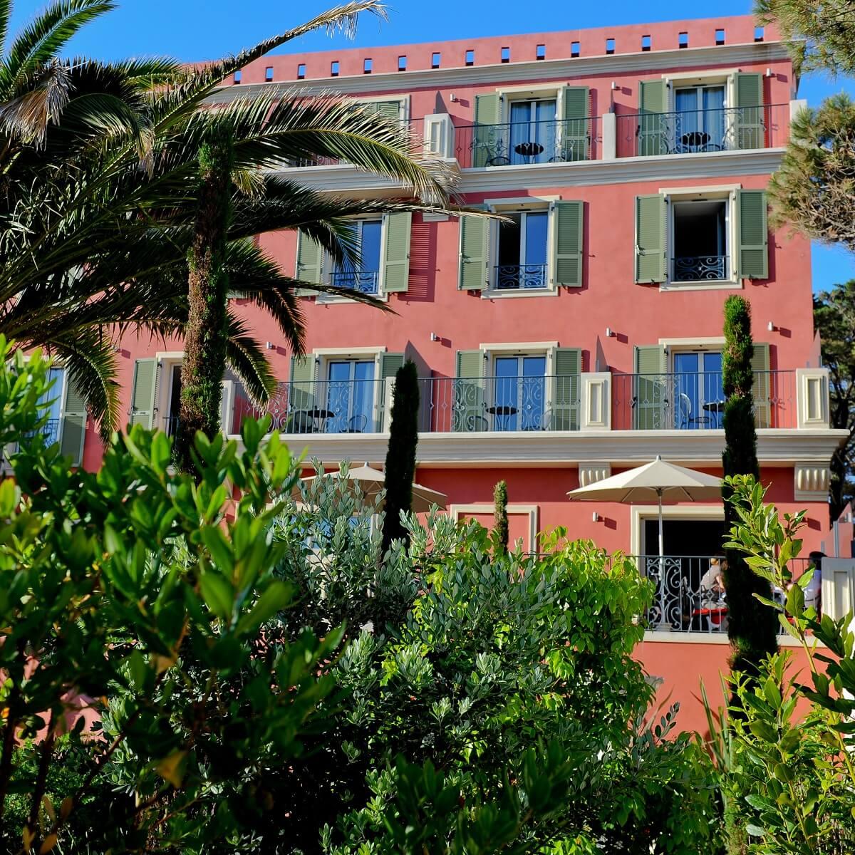 Facade - Hôtel Liberata - L'île Rousse - Haute-Corse