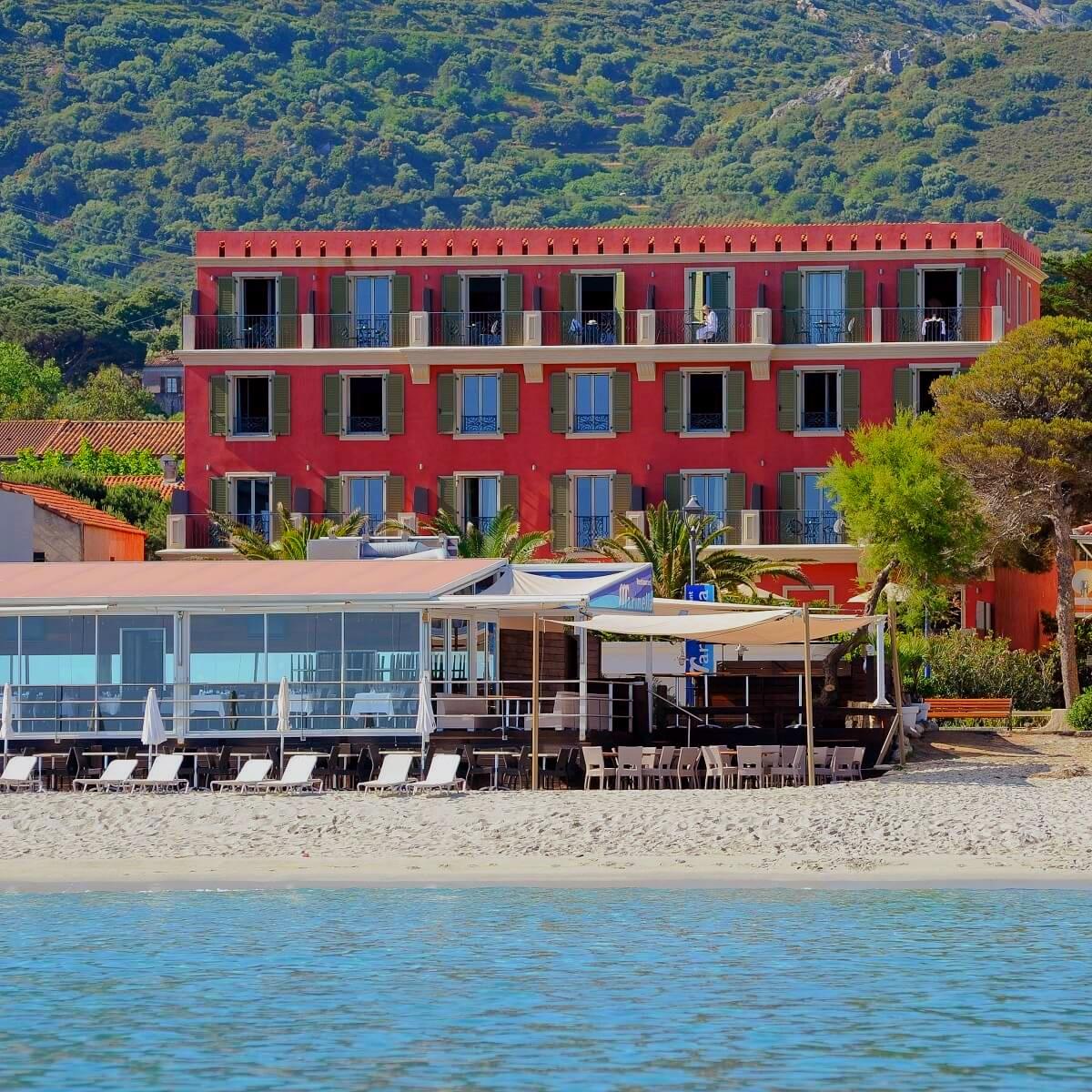Facade - Hôtel Le Liberata - L'île Rousse - Haute-Corse