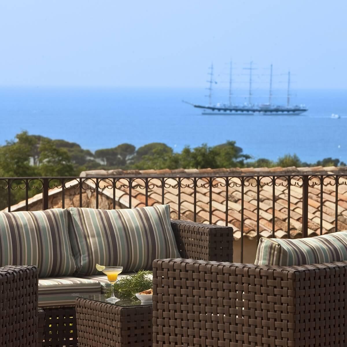Terrasse - Hôtel Les Bergeries de Palombaggia - Porto-Vechhio - Corse du Sud