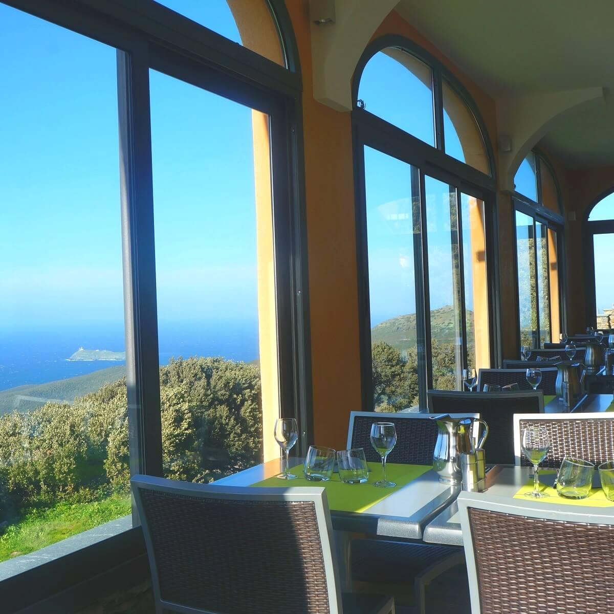 Restaurant - Hôtel Saint Jean - Ersa - Cap Corse