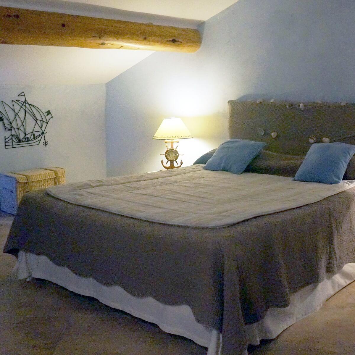 Chambre double - Hôtel Saint Jean - Ersa - Cap Corse
