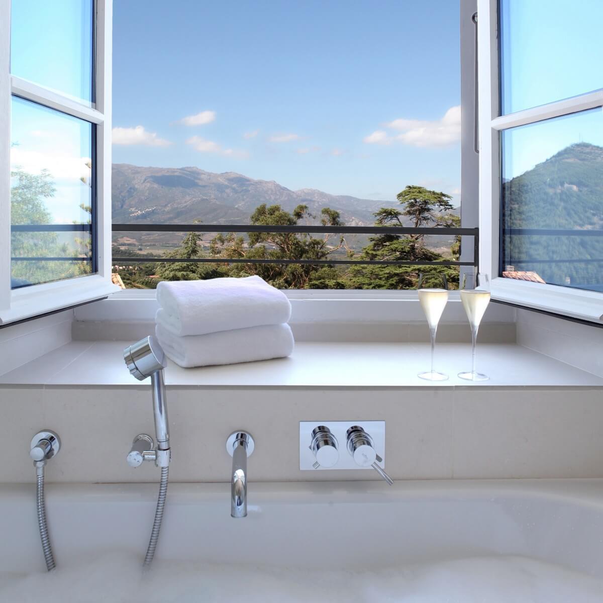 Salle de bain - Hôtel U Palazzu Serenu - Oletta - Haute-Corse