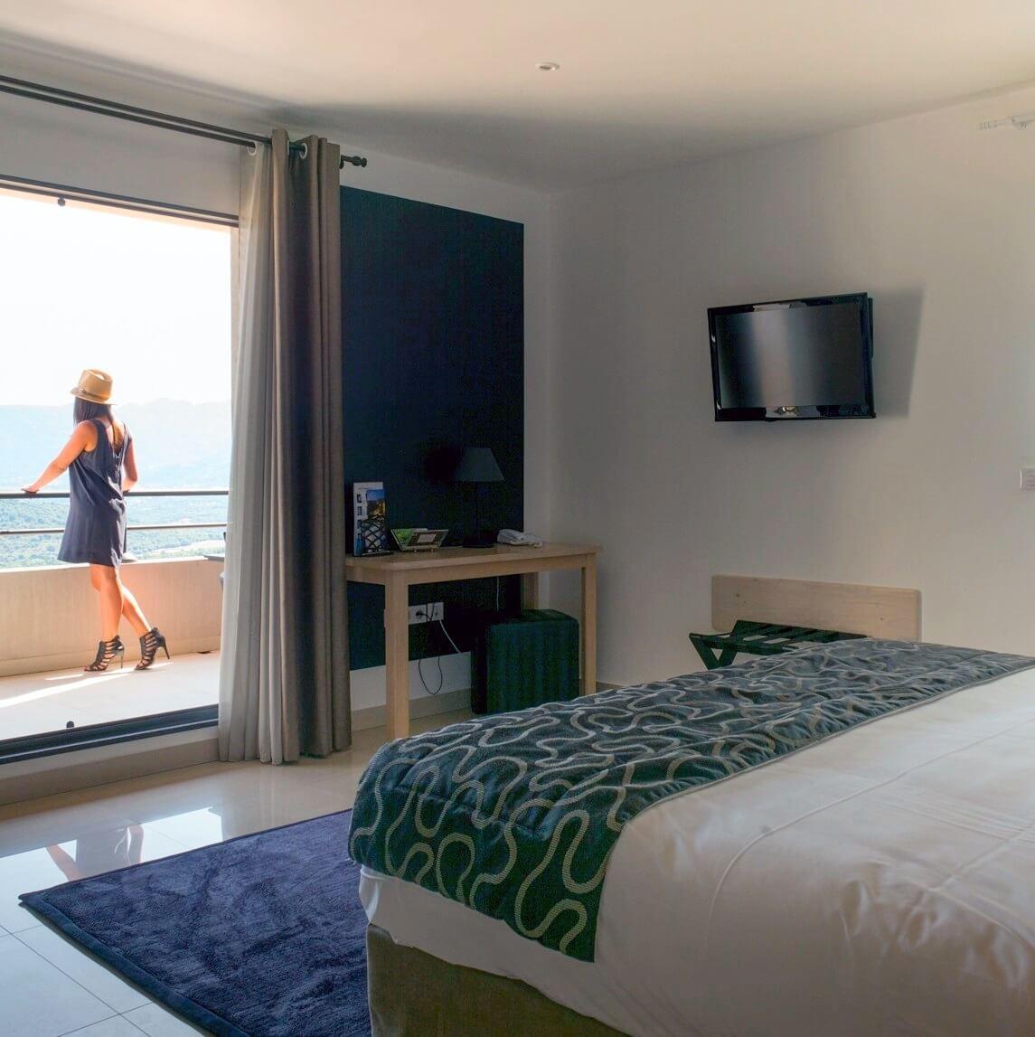 Chambre avec terrasse - Hôtel A Piattatella - Oletta - Corse