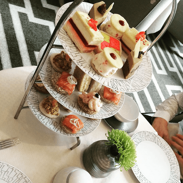 Afternoon Tea - Hôtel Intercontinental Park Lane - Londres