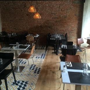 Salle du restaurant la Côte et l'Arête à Toulouse