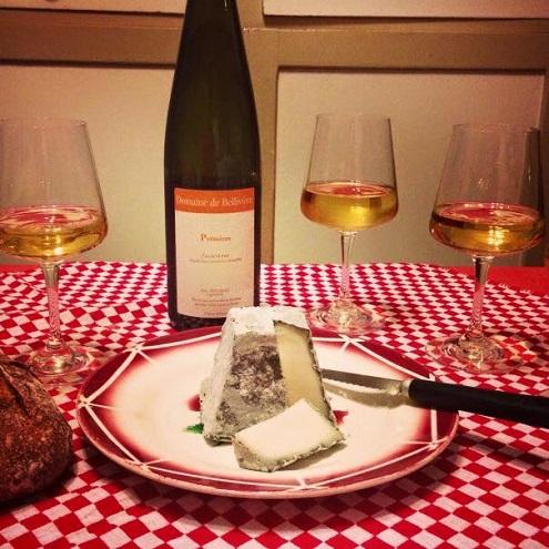 Vin et fromage au Comptoir des Fromages