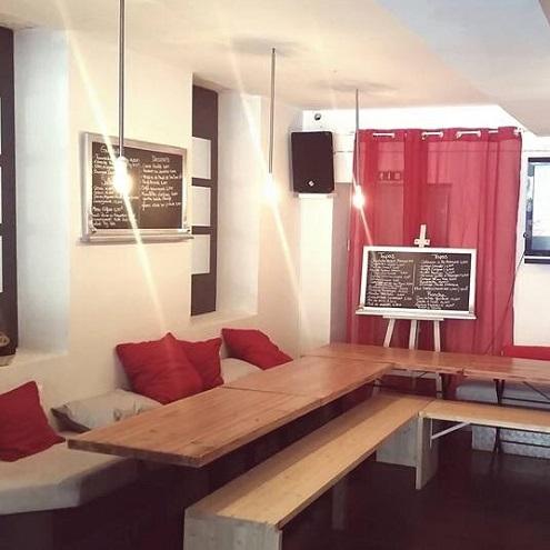 Salle du bar El Divino