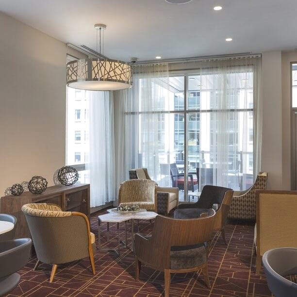 Salon - Hôtel Boutique Grand Central - New-York