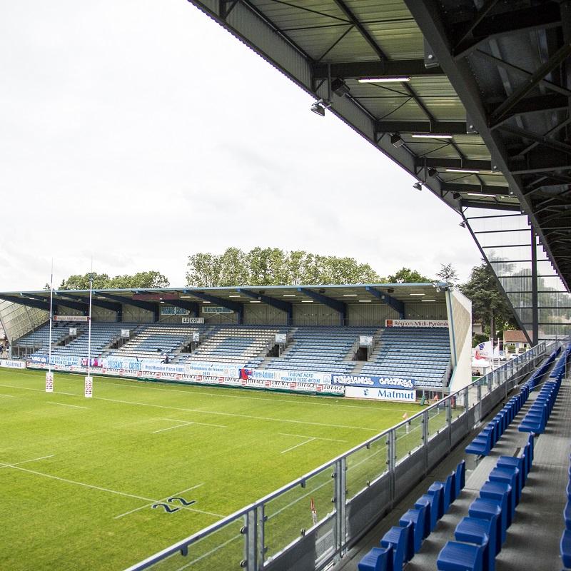 Le Stade Pierre-Antoine à Castres