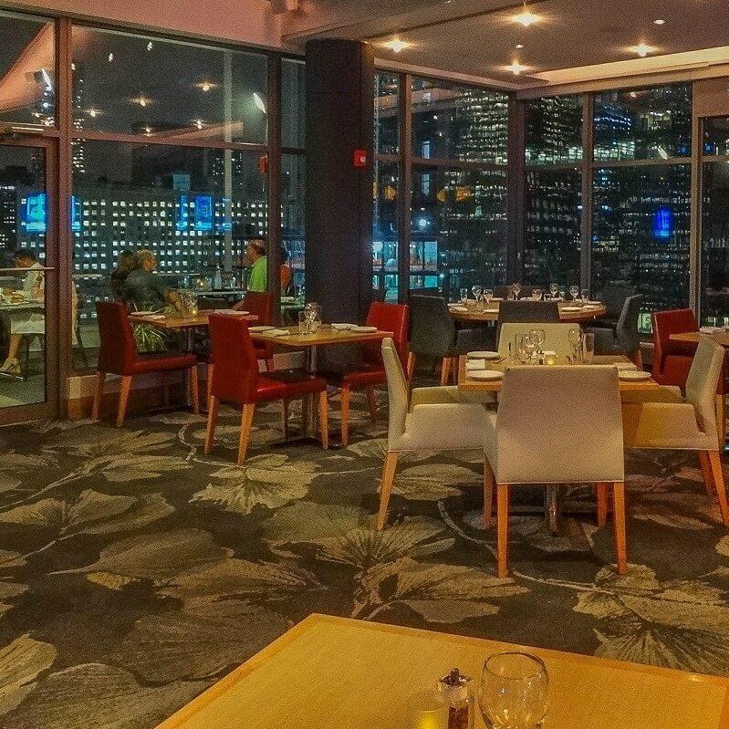 Restaurant - Hôtel Club Quarters World Trade Center - New-York