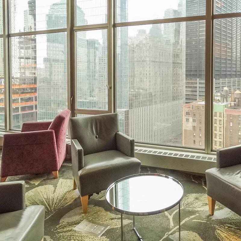 Salon - Hôtel Club Quarters WTC - New-York
