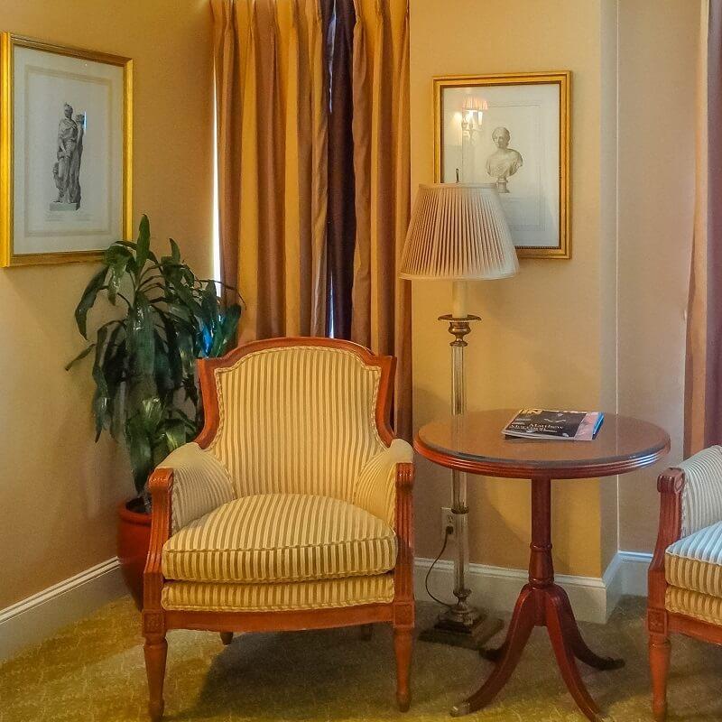 Salon - Hôtel Plaza Athénée - New-York