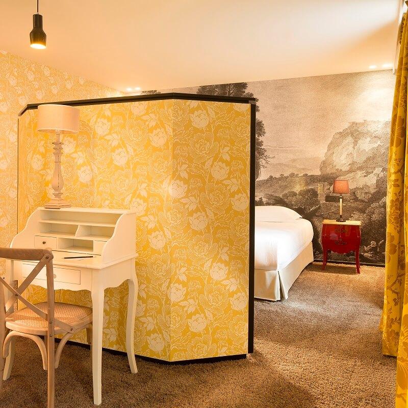Chambre Dissidi - Hôtel L'Antoine - Paris