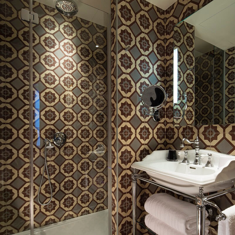 Intérieur salle de bain - Hôtel L'Antoine - Paris