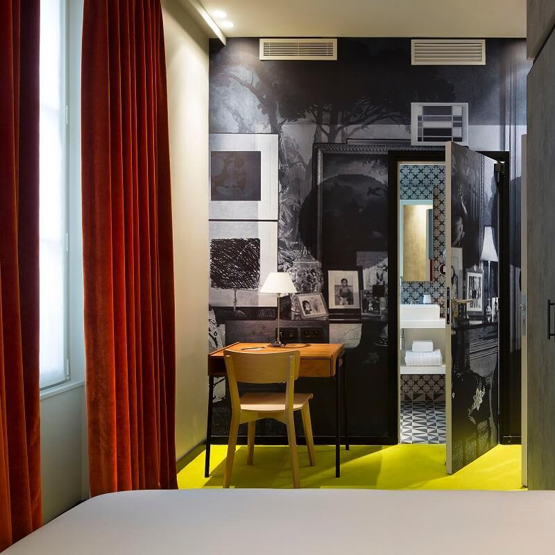 Intérieur chambre - Hôtel L'Antoine - Paris
