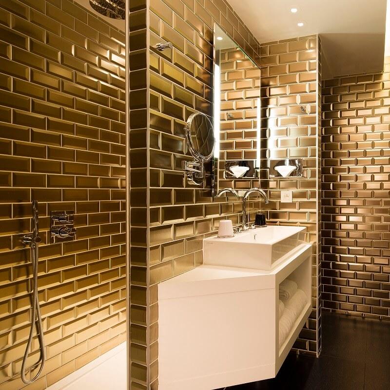 Salle de bain 1er étage - Hôtel L'Antoine - Paris