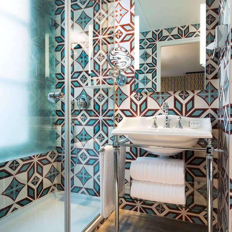 Salle de bain Balajo - Hôtel L'Antoine - Paris