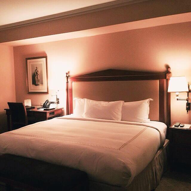 Chambre - Hôtel Plaza Athénée - New-York